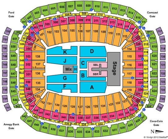 NRG Stadium Tickets in Houston Texas, NRG Stadium Seating ...