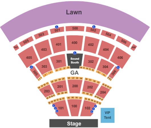 Darien Lake Performing Arts Center Tickets In Darien