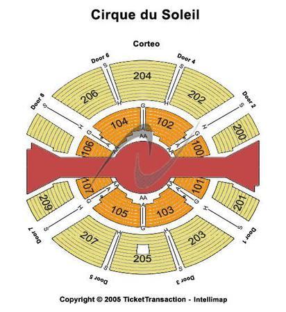Cirque du Soleil - SBC Park Tickets in San Francisco ...