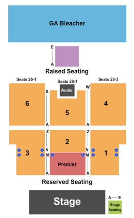 Thunder Valley Casino Amphitheatre Tickets In Lincoln