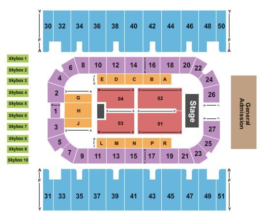 Rimrock Auto Arena Tickets In Billings Montana Rimrock