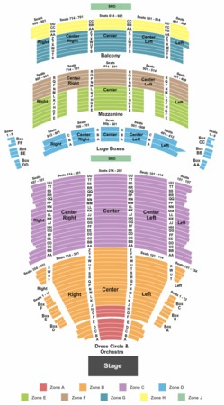 Keybank State Theatre Tickets In Cleveland Ohio Seating