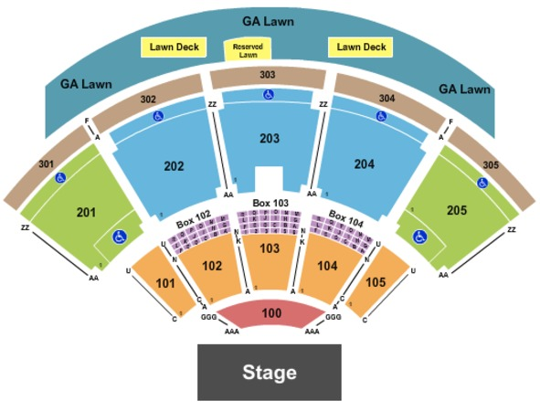 Ak Chin Pavilion Tickets In Phoenix Arizona Ak Chin Pavilion Seating Charts Events And Schedule