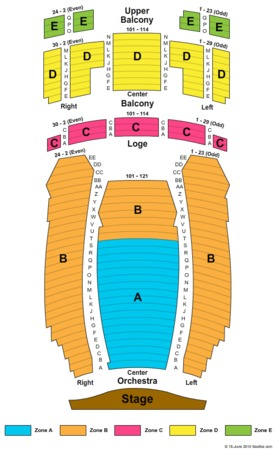 Count basie theater seating chart elcho table