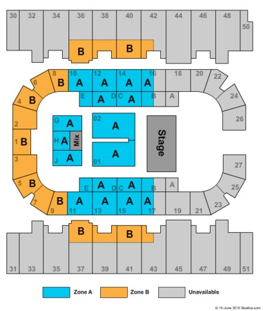 Rimrock Auto Arena End Stage Zone