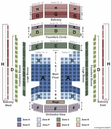 Schermerhorn symphony center tickets in nashville tennessee seating