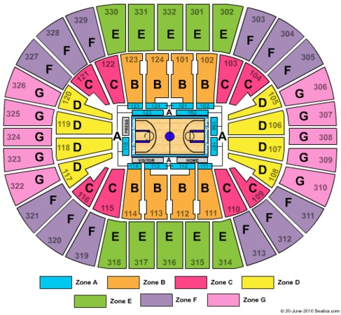 Smoothie King Center Basketball Zone