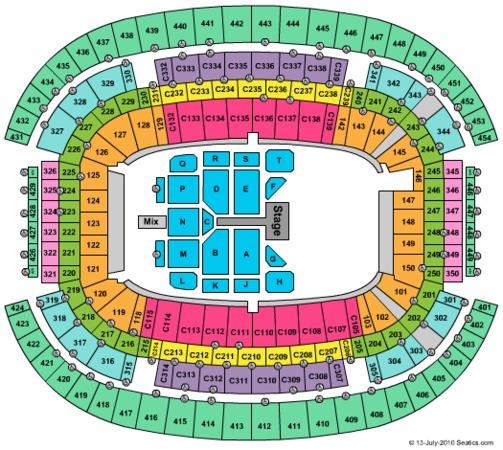 AT&T Stadium Tim McGraw