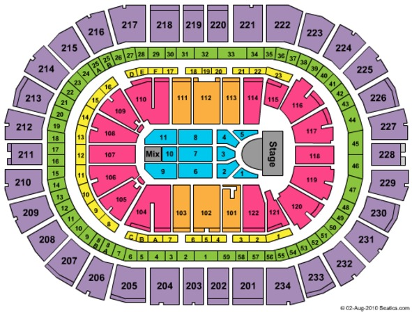 PPG Paints Arena SYTYCD (CONSULT MAPS TEAM BEFORE USING)