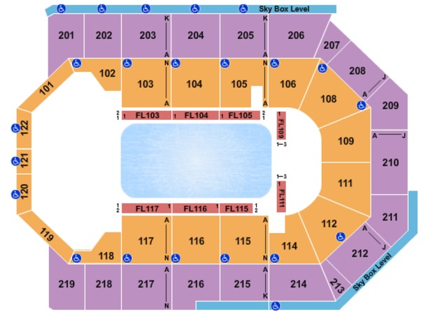 Citizens Business Bank Arena Disney on Ice