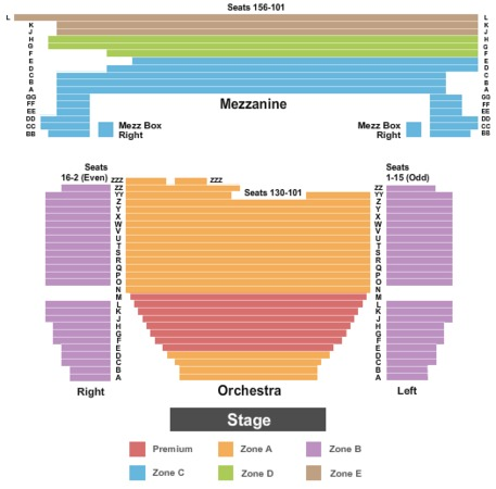 Minskoff Theatre End Stage Zone
