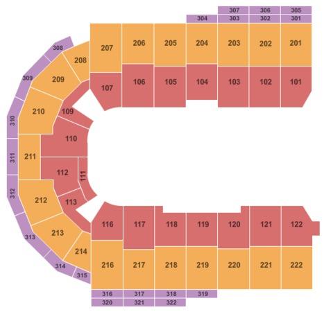 Erie Insurance Arena Open Floor