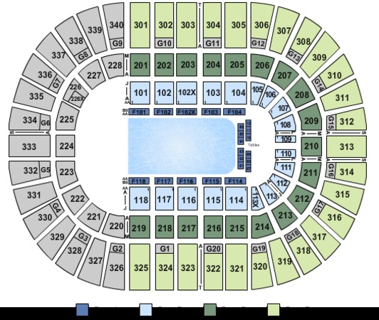 Nassau Coliseum Tickets In Uniondale New York, Seating