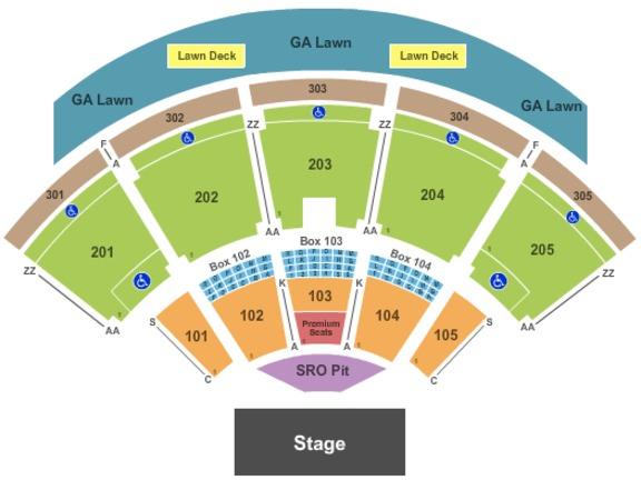 Ak Chin Pavilion Tickets In Phoenix Arizona Ak Chin