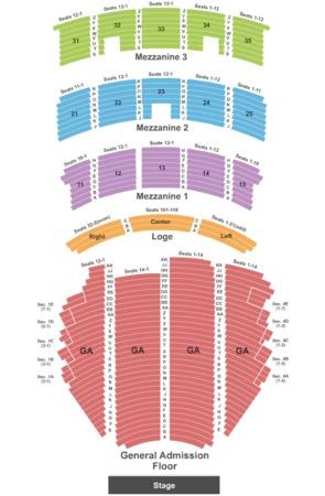 Paramount Theatre Tickets In Seattle Washington Paramount