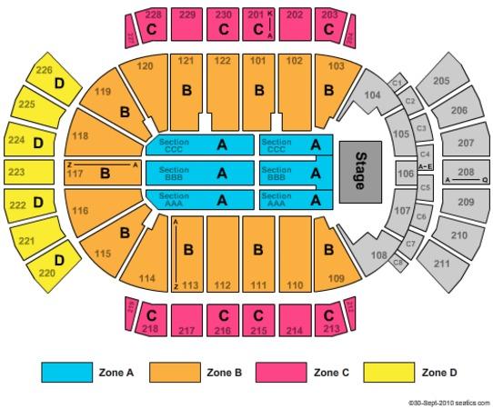 Gila River Arena Tickets In Glendale Arizona Gila River