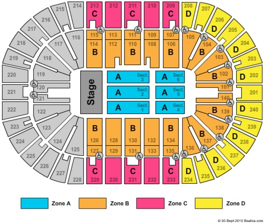 US Bank Arena TSO Zone