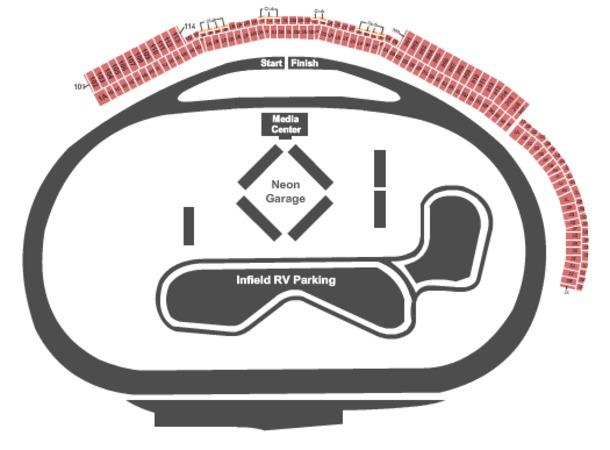 las vegas motor speedway seating chart. Las Vegas Motor Speedway