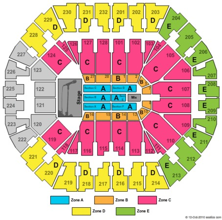 Oracle arena tickets in oakland california oracle arena seating