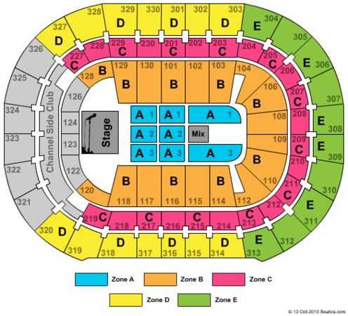 amalie arena seating chart