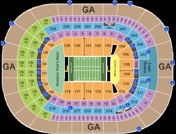 Amalie Arena Tickets In Tampa Florida Amalie Arena Seating