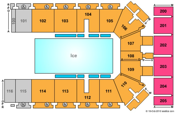 Tyson Events Center - Gateway Arena Disney on Ice
