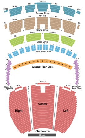 Powell symphony hall tickets in st louis missouri seating charts