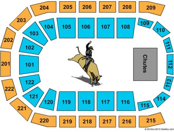 Huntington Center Seating Chart