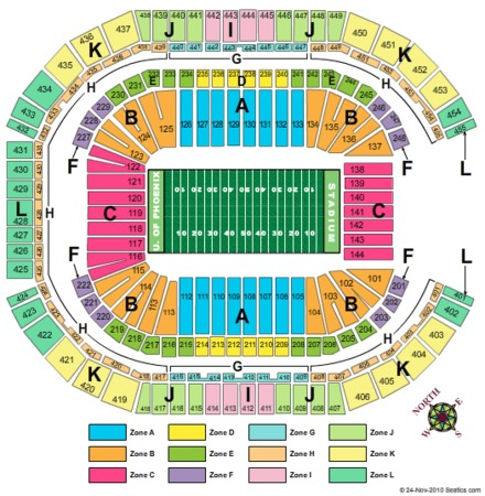 university of phoenix stadium tickets in glendale arizona seating