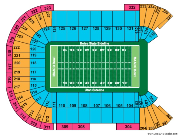 Sam Boyd Stadium Maaco Bowl 2010