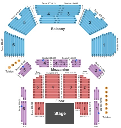 Acl Live At The Moody Theater Tickets In Austin Texas