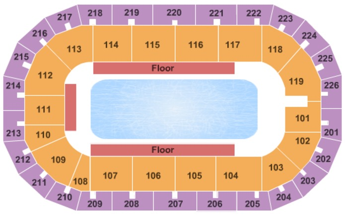 Cure Insurance Arena Disney on Ice
