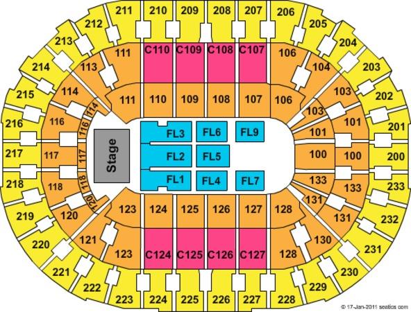 Quicken Loans Arena Tickets in Cleveland Ohio, Quicken ...