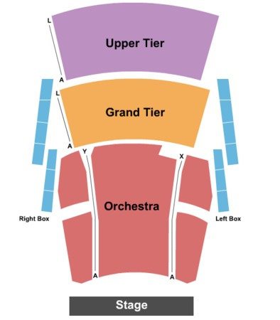 Robinson Center Performance Hall End Stage