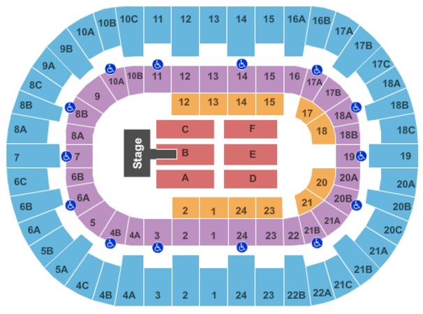Valley view casino center san diego seating chart