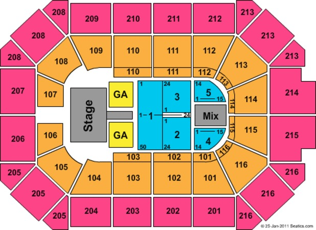 Allstate Arena Katy Perry