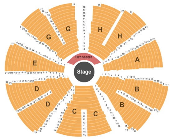 Cape cod melody tent tickets in hyannis massachusetts seating