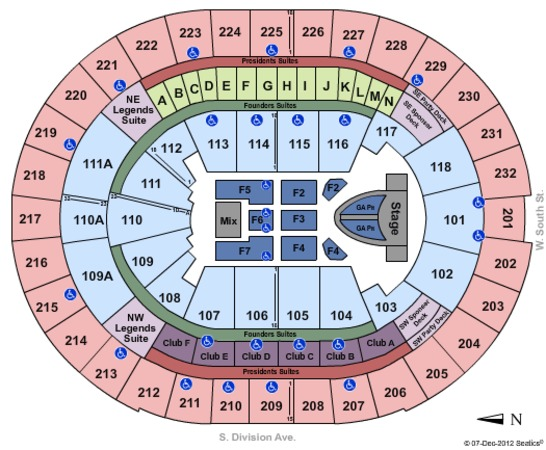 Amway Center Taylor Swift