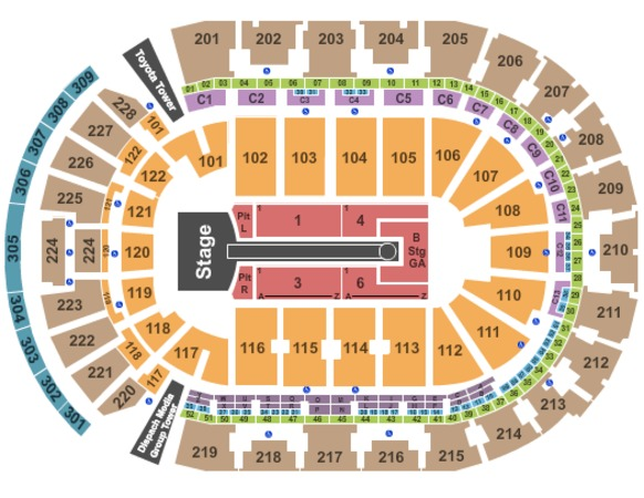 Nationwide Arena Taylor Swift