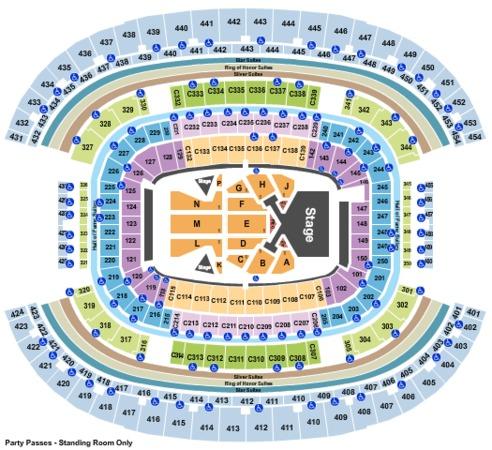 AT&T Stadium Taylor Swift