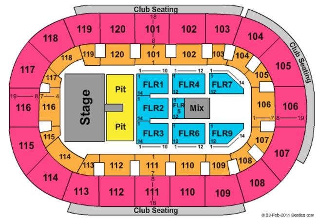 Germain Arena Seating Chart Germain Arena Seating Charts