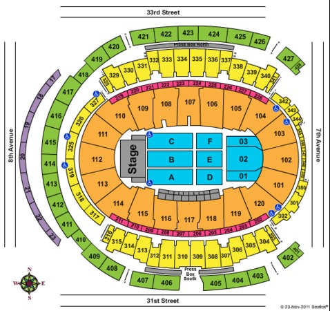madison square garden tickets in new york seating charts events and schedule. Black Bedroom Furniture Sets. Home Design Ideas