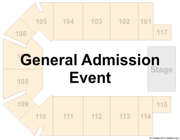The Kovalchick Convention and Athletic Complex - Ed Fry Arena General Admission