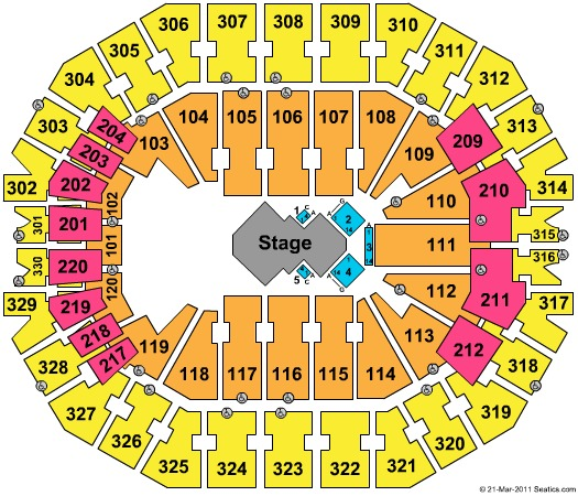 KFC Yum! Center Tickets in Louisville Kentucky, KFC Yum ...