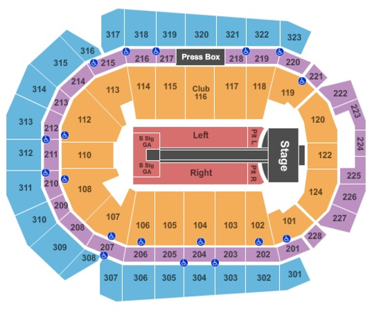Wells Fargo Arena Taylor Swift