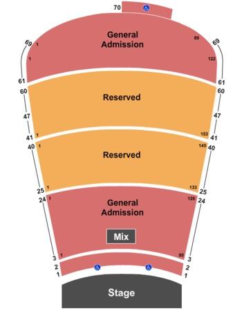 Red Rocks Amphitheatre Tickets In Morrison Colorado