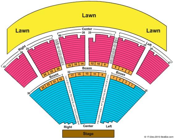 Ravinia Pavilion Tickets In Highland Park Illinois