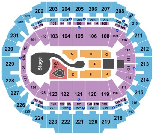 Centurylink Center Omaha Tickets In Omaha Nebraska