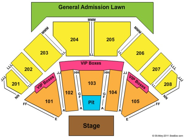Hollywood Casino Amphitheatre Tickets In Tinley Park