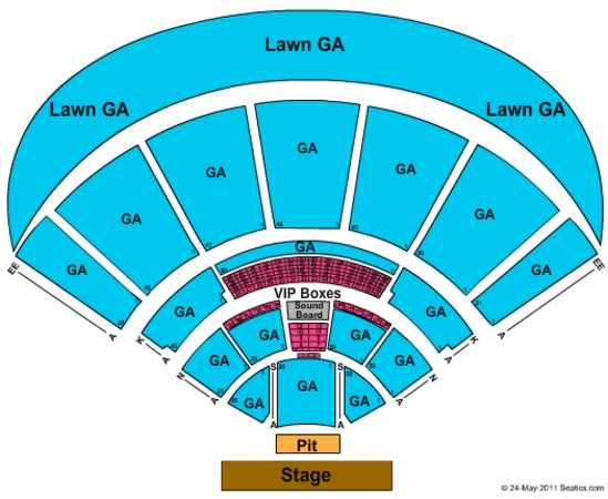 MidFlorida Credit Union Amphitheatre At The Florida State Fairgrounds General Admission